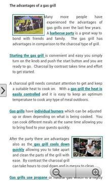 Gas Grill Propane Tank apk screenshot