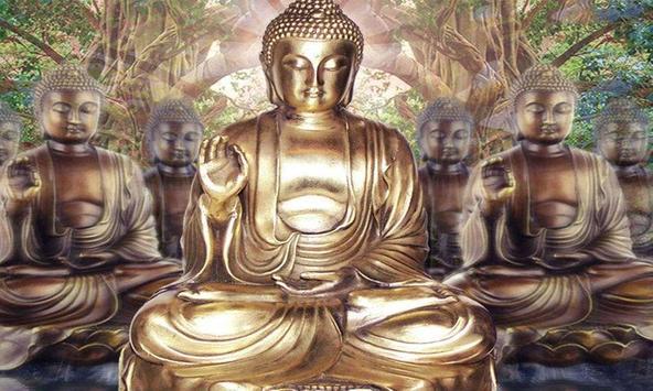 Gautam Buddha Live Wallpaper Apk Screenshot