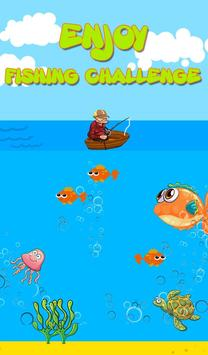 Catch Fish:fishing challenge poster