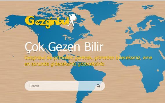 Gezginbul Mobile apk screenshot
