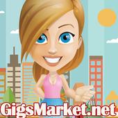 GigsMarket.net Marketplace icon