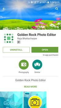Golden Rock Photo Editor poster