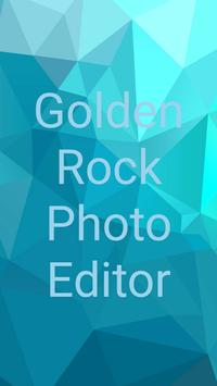 Golden Rock Photo Editor screenshot 1