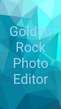 Golden Rock Photo Editor apk screenshot