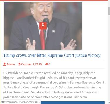 Gorkha News Online screenshot 2