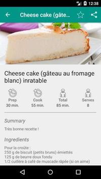 Gourmande Recipes screenshot 1