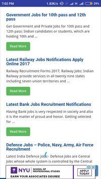 Govt Job Alert Sarkari Naukri screenshot 2