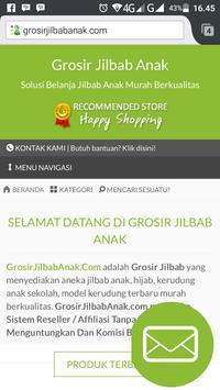 Grosir Jilbab Anak poster