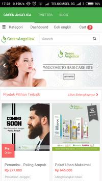 Green Angelica Indonesia poster