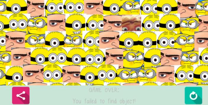 Despicable Find Gru And Dru apk screenshot