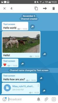 HEXAchat (Unreleased) apk screenshot