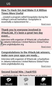 Hackathon Reports poster