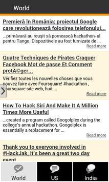 Hackathon Reports apk screenshot
