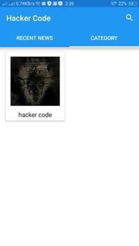Hacker Codes apk screenshot
