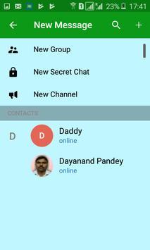 Halt Messenger: Fastest Calling and Messaging App apk screenshot