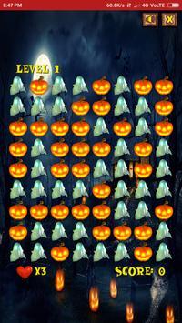 Halloween Monsters Game-Pumpkin Bubble Burst 2018 screenshot 2