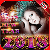 Happy New Year Sticker 2018 icon