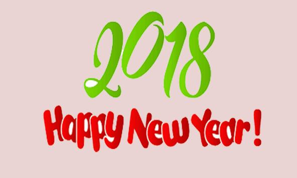 Happy New Year Sticker 2018 screenshot 3