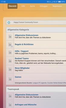 Happy Forever Forum screenshot 2