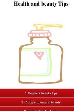 Health and Beauty Tips apk screenshot