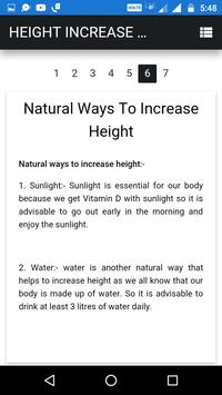 Height Increase Tips screenshot 3