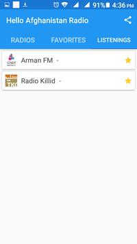 Hello Afghanistan Radio screenshot 4