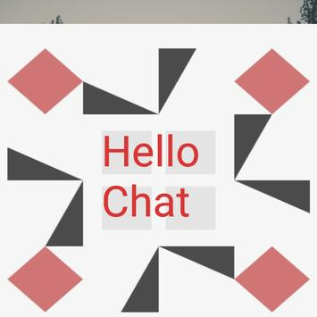 Hello Chat poster