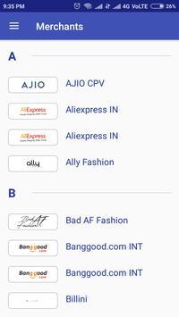 High Rated coupons apk screenshot