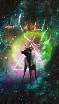 Hipster Wallpaper poster