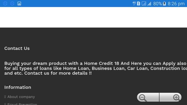 Home Credit 18, Loan App apk screenshot