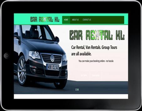 Car Rental Kuala Lumpur apk screenshot