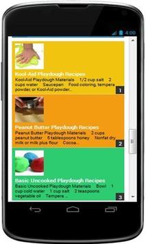 New Homemade Playdough Recipes poster