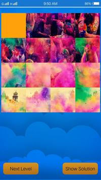 Holi Puzzle Happy Holi poster