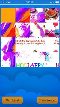 Holi Puzzle Happy Holi apk screenshot