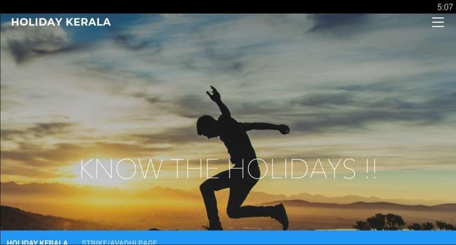 Holiday Kerala poster