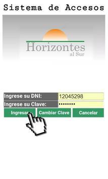 Horizontes cc poster