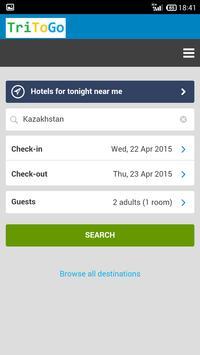 Hotels Kazakhstan by tritogo apk screenshot