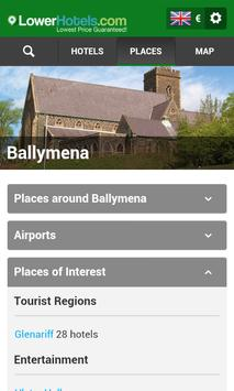 Hotels in Ballymena apk screenshot