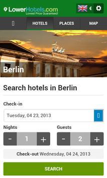 Hotels in Berlin poster