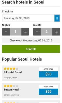 Seoul Hotels apk screenshot