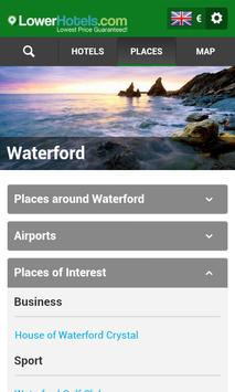 Hotels in Waterford apk screenshot