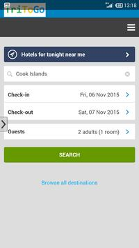 Hotels prices Cook Islands apk screenshot