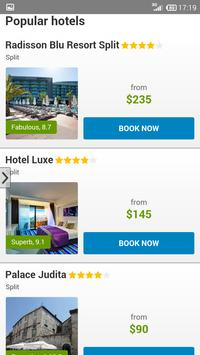 Hotels Croatia by tritogo.com apk screenshot