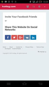 Hotlag dating   social network apk screenshot