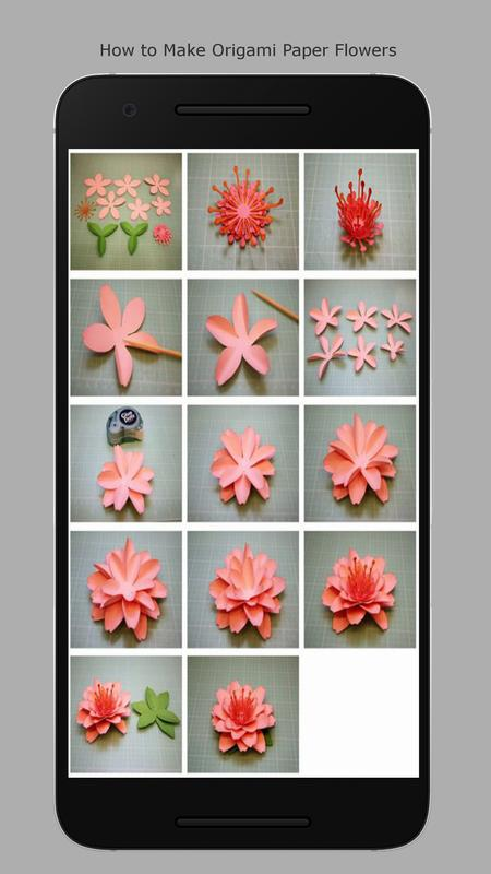 How To Origami Flowers For Android Apk Download