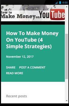 How To Make Money On YouTube screenshot 1