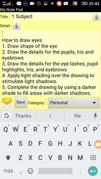 How to draw eyes - step by step apk screenshot