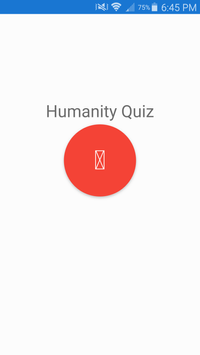 Humanity Quiz (Scouting) poster