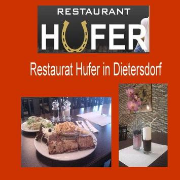 Restaurant Hufer poster