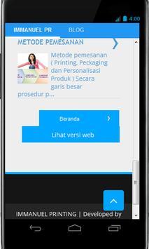 Immanuel Printing apk screenshot